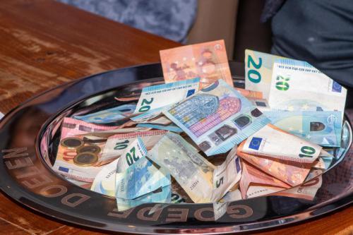 Ruim 400 euro extra opbrengst bedankt.