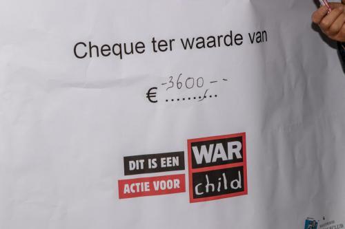 Uiteindelijk 3600 euro voor Warchild
